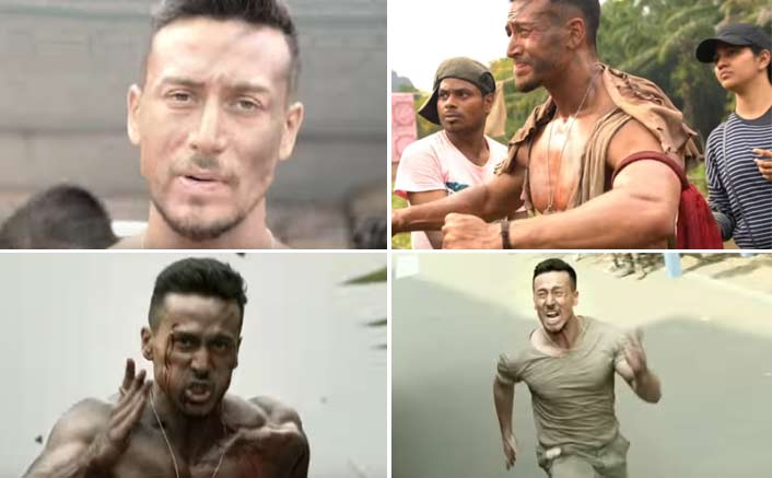 Watch Tiger Shroff perform raw action all by himself in Baaghi 2 BTS