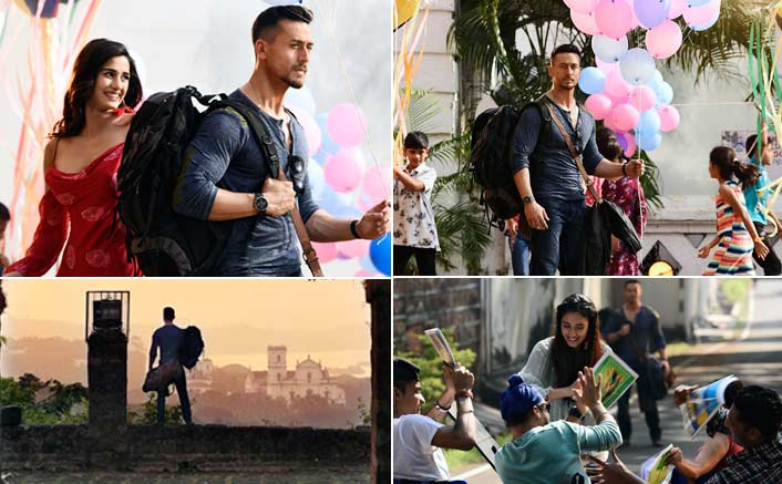 Watch Tiger Shroff 's journey as he revisits his past with Disha in the new song from Baaghi 2 titled Lo Safar