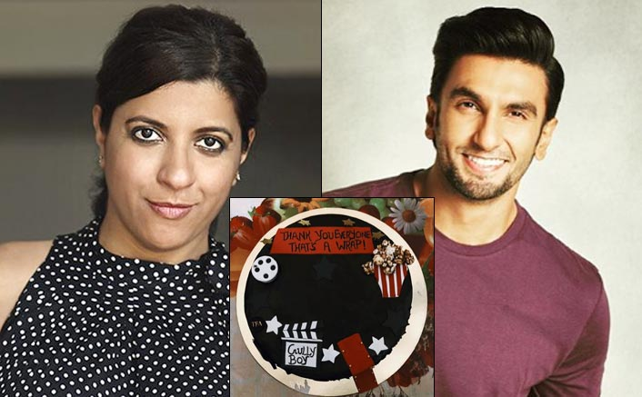 Zoya Akhtar and Ranveer Singh wraps Gully Boy in style
