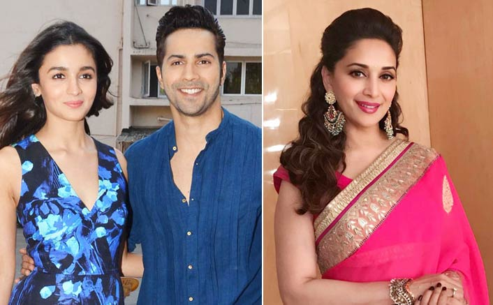 Madhuri Dixit joins Alia Bhatt and Varun Dhawan