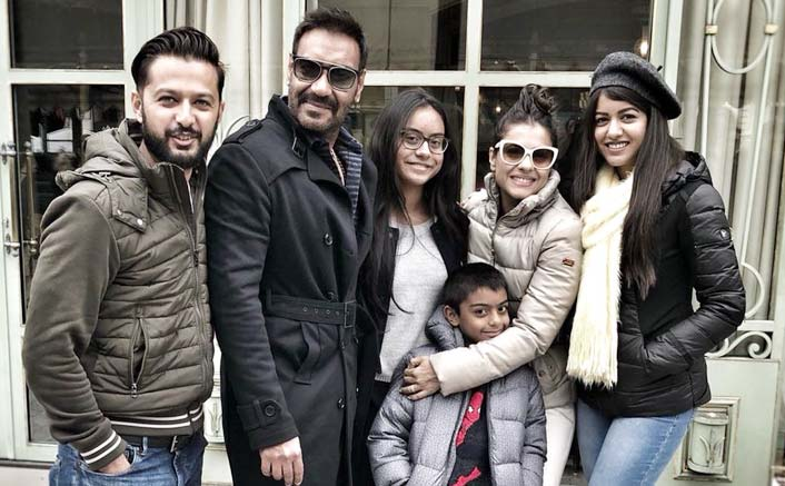 Ajay Devgn celebrates birthday in Paris