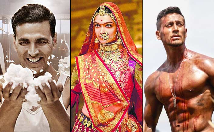 Box-Office: Padmaavat, PadMan, Baaghi 2 and 3 Other Films Make 1st Quarter Of 2018 - The Best This Decade