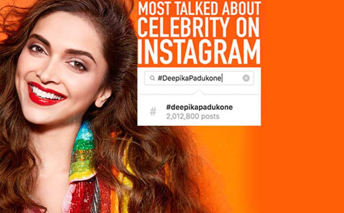 Deepika Padukone emerges as the most talked about celebrity on Instagram