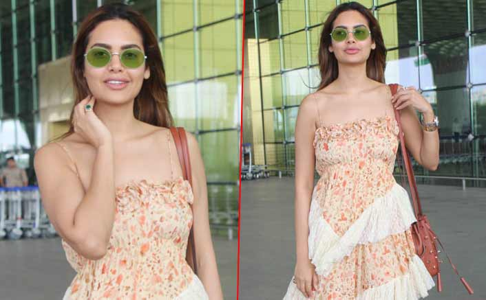 Esha Gupta at airport