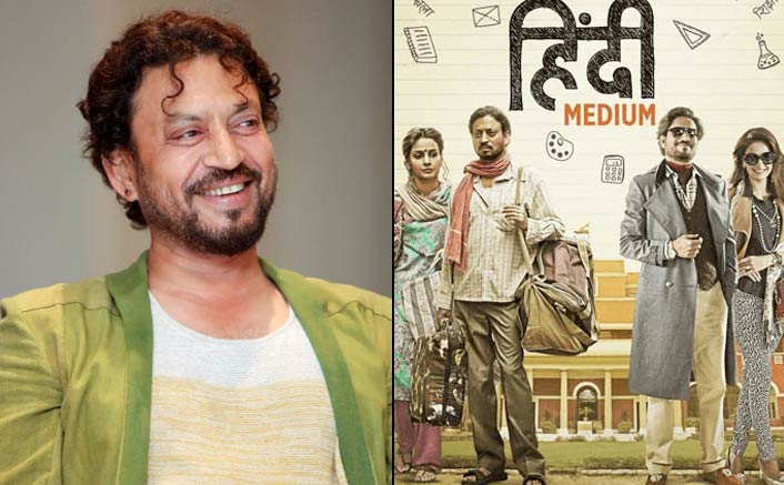Irrfan's Hindi Medium breaks opening day record of Dangal and Bajrangi, soars high at the China Box Office!