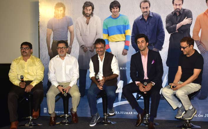 Makers spill beans on the most controversial biopic 'Sanju' at the teaser launch!
