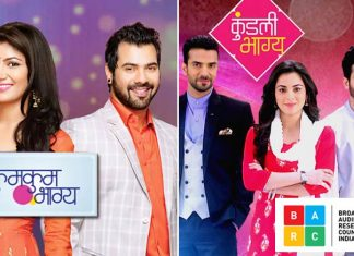 Kumkum Bhagya Joins Kundali Bhagya At The Top In BARC's 15th Week Report