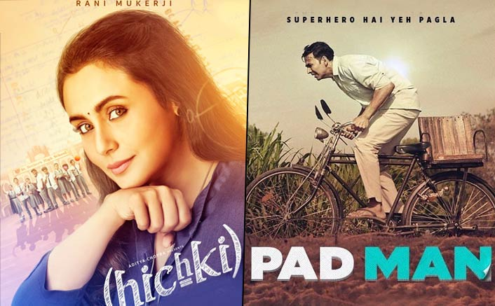 Rani Mukerji's Hichki Overtakes Akshay Kumar's PadMan In The List Of Most Profitable Films Of 2018