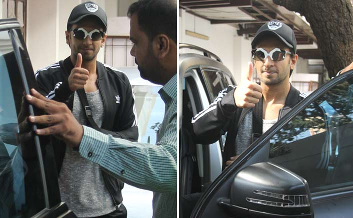 Ranveer Spotted at Clinic at Bandra