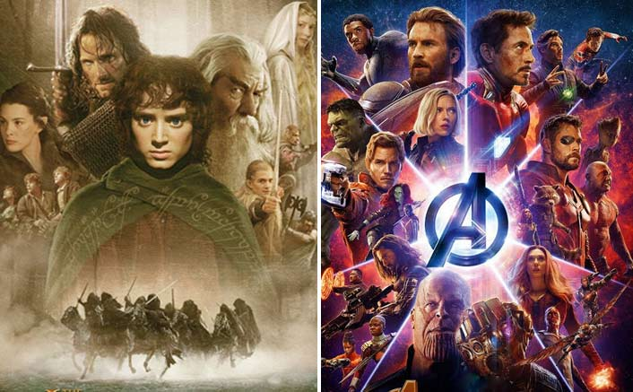 What's common between 'Lord of the Rings', 'Avengers...'