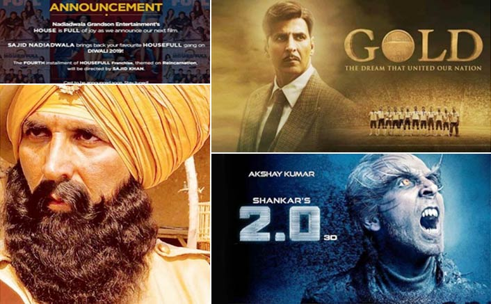 6 Back to Back Successful Films for Akshay Kumar – Will He Make it to 10 with Gold, Kesari, Housefull 4 and 2.0?