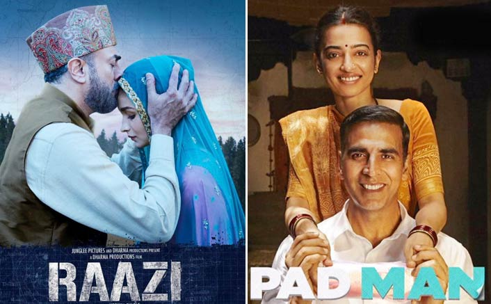 Alia Bhatt's Raazi Beats Akshay Kumar's PadMan At The Box Office