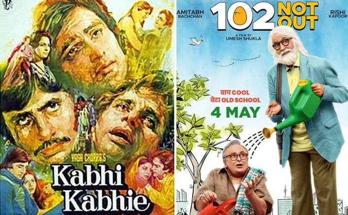 Amitabh and Rishi; From Kabhi kabhi to 102 Not Out