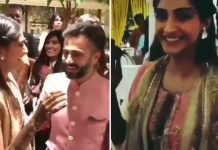 Inside Videos: Sonam Kapoor & Anand Ahuja Dance On Ranbir, Jacqueline & Arjun's Songs At Mehendi Ceremony