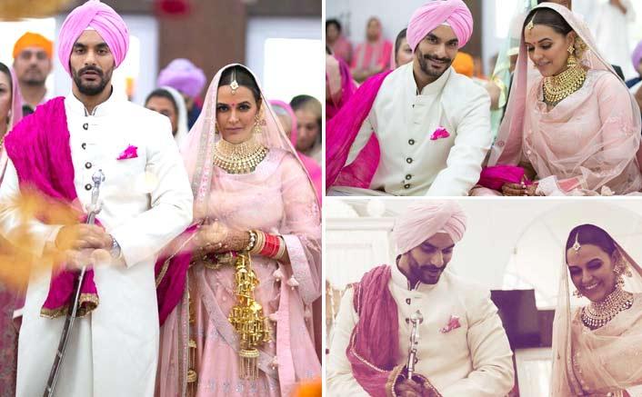 SURPRISE! Neha Dhupia Marries Her Best Friend Angad Bedi In A Private Ceremony