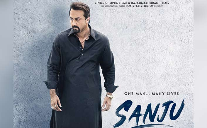 102Ranbir Kapoor nails Sanjay Dutt's look in new 'Sanju' poster