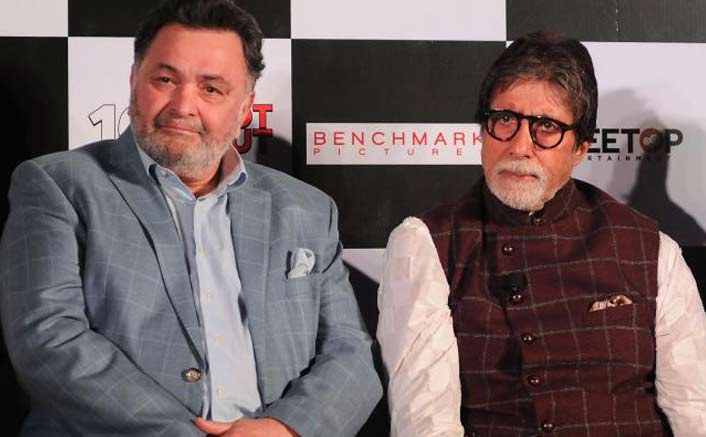 """Rishi Kapoor and I could play siblings even now, aged siblings"" - Amitabh Bachchan"