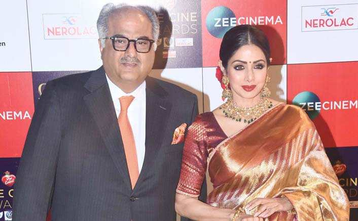 Unfortunate Sridevi got National Award after she left: Boney Kapoor