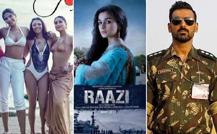 Box Office - Veere Di Wedding, Parmanu and Raazi bring in over 250 crore in quick time