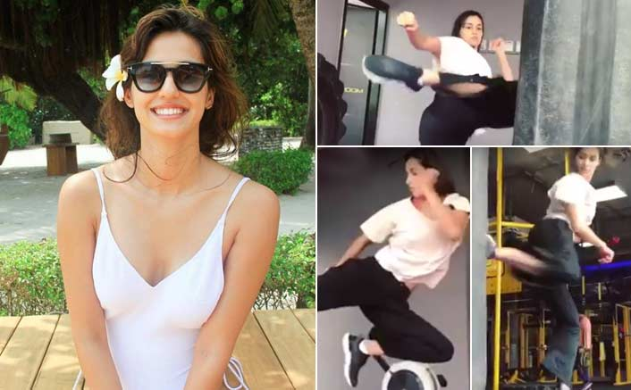 Disha Patani packs a punch in her latest fitness video!