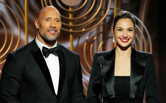 Whoa ! Dwayne Johnson and Gal Gadot team up