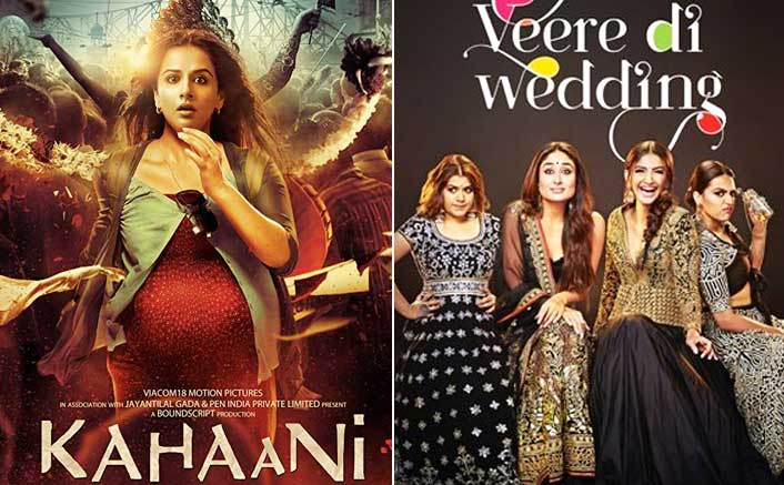 From Kahaani to Veere Di Wedding: The Rise and Rise of Female Centric Films in Bollywood!