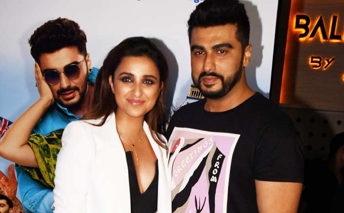 Parineeti brings best out of me while shooting: Arjun Kapoor