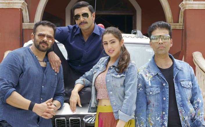 Simmba:Ranveer Singh and Sara Ali khan to begin shooting for the first schedule from today