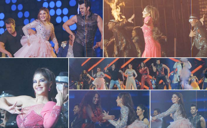 Take a look at the unseen glimpses of Jacqueline Fernandez' Dabangg Tour performance