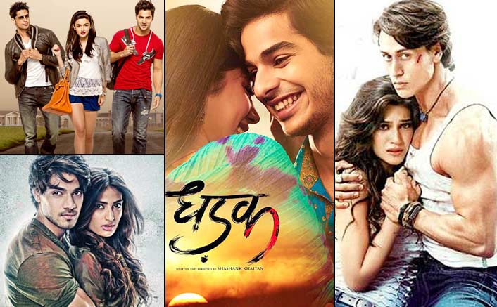 Box Office - Dhadak goes past Student of the Year, Hero and Heropanti, is the best amongst Top-10 films with debutants