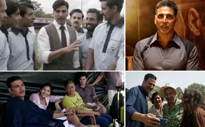 Check out Akshay Kumar's quirkiest side in the BTS of Gold