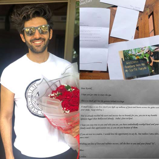 This Sweet Gesture By Kartik Aaryan's Fan Will Move Your Heart!