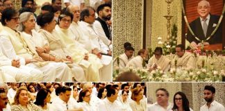 Bollywood celebs attend Rajan Nanda's prayer meet