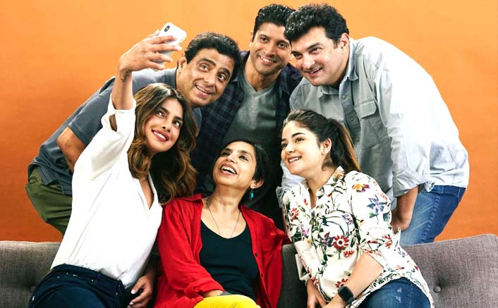 Priyanka, Farhan and Zaira begin filming for Ronnie and Sid's next