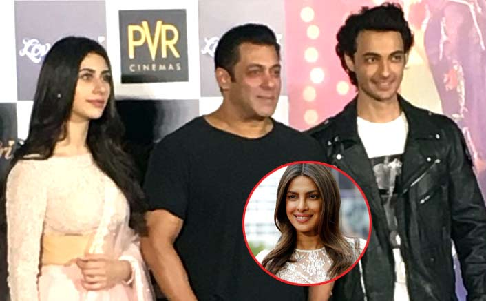 Salman Khan Reacts On Priyanka Chopra's Exit From Bharat At The LoveRatri Trailer Launch!