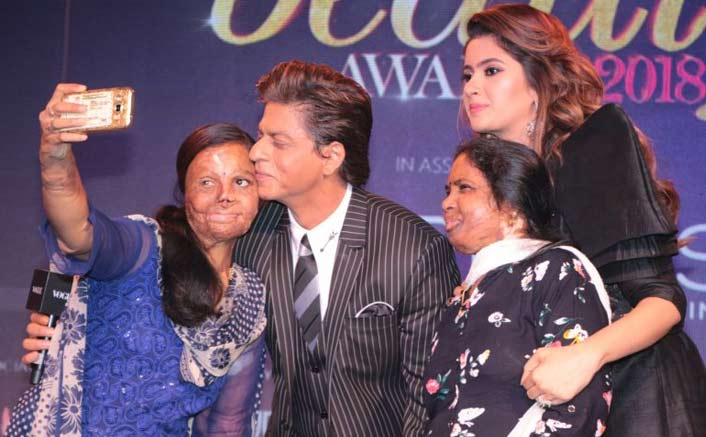 Shah Rukh Khan Urges People To Support Acid Attack Victims!
