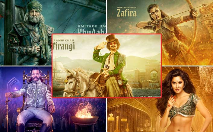 Thugs of Hindostan poster out: Aamir, Katrina and Amitabh prepare for war