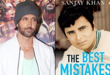 Hrithik shares first look of Sanjay Khan's autobiography