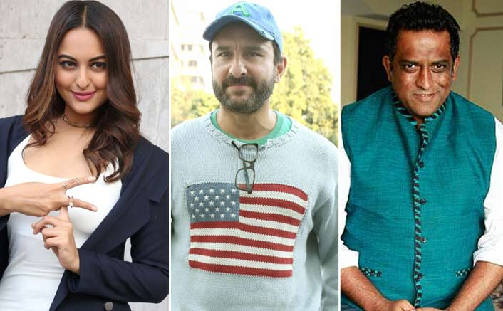 Sonakshi Sinha & Saif Ali Khan Added To The Star Cast Of THIS Upcoming Project Of Anurag Basu!