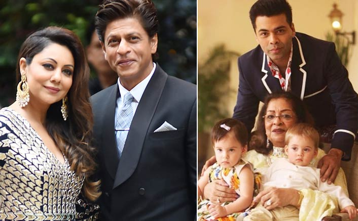 Karan Johar: Shah Rukh Khan, Gauri Are Godparents To My Kids