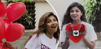 """""""What is Shilpa Shetty Kundra hiding behind 100 balloons?"""""""