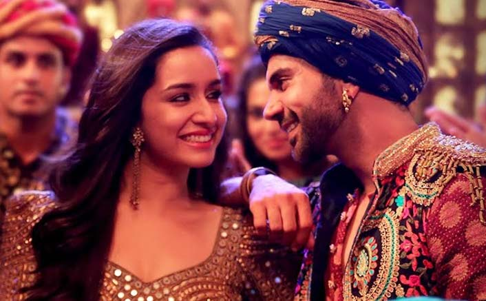 Shraddha Kapoor as a mysterious girl (Stree)