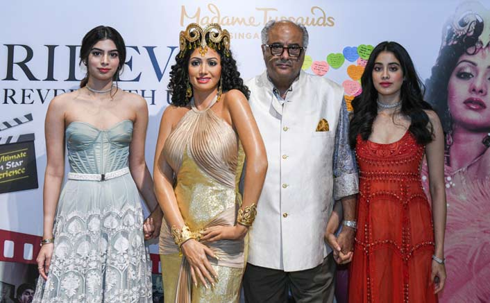 Image result for sridevi wax statue