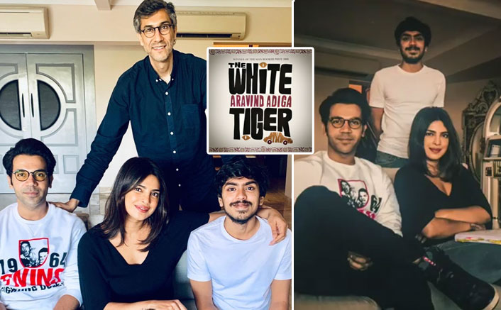 The White Tiger: Priyanka Chopra Teases Fans With Script Reading Session Alongside Rajkummar Rao