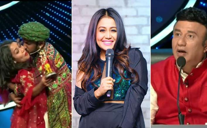 Indian Idol 11 Contestant Forcefully Kisses Neha Kakkar Singer Left In Shock See Video