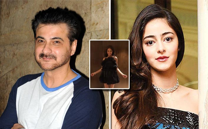 Image result for ananya pandey and sanjay kapoor