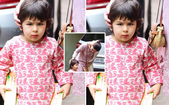 Image result for latest images of taimur ali khan shouting on media on diwali 2019