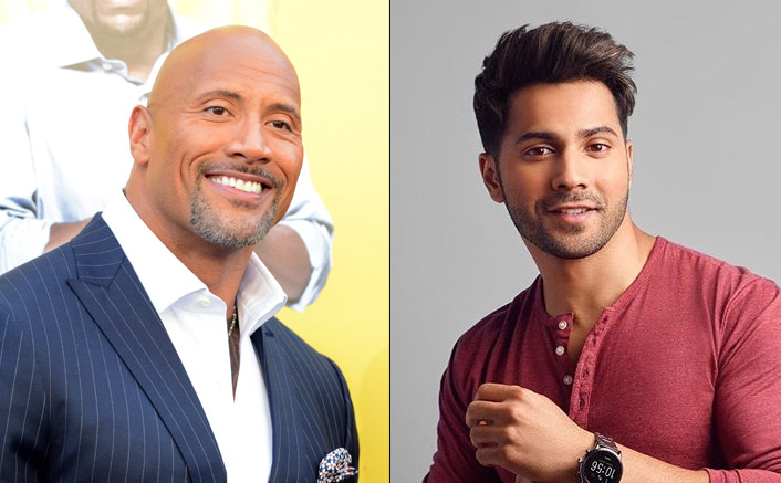 Dwayne Johnson In A Bollywood Movie With Varun Dhawan Actor