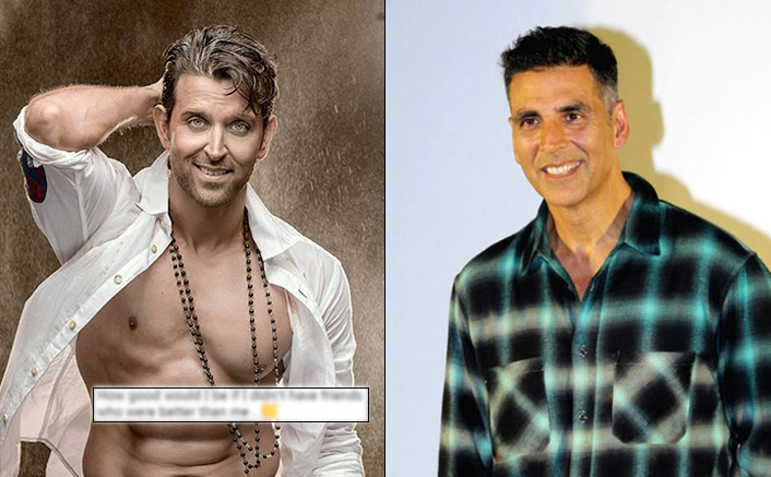 Hrithik Roshan Reacts To WAR Being Defeated By Akshay