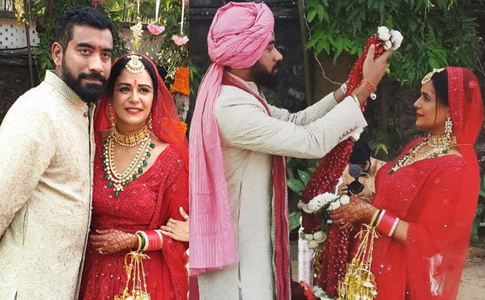 Pics Mona Singh Is Officially Married Her Red Lehenga Is All Things Beautiful 101,555 likes · 12 talking about this. pics mona singh is officially married